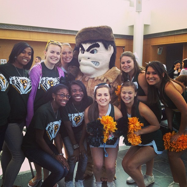 Long Island University Brooklyn Mascot