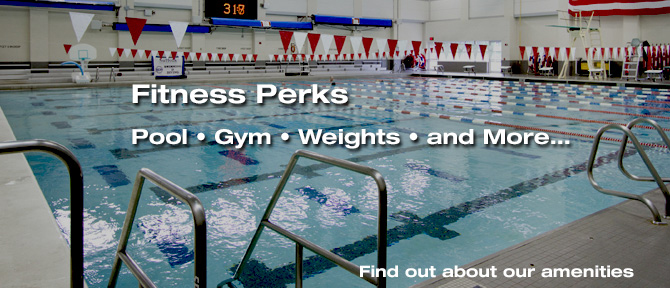 Fitness Perks Pool - Gym - Weights - and More...