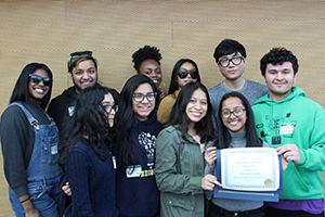 Photo from Best of High School Journalism Awards Day on March 23, 2018