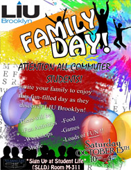 LIU Brooklyn Family Fun Day