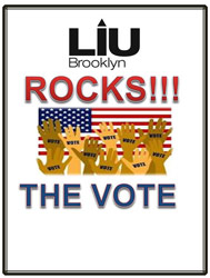 LIU Brooklyn Rock the Vote