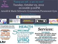LIU Brooklyn UHMS Health and Wellness Screening