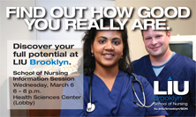 LIU Brooklyn School of Nursing Information Session February 27, 2013