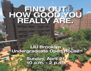 LIU Brooklyn Undergraduate Open House April 21, 2013