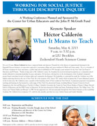 LIU Brooklyn Hector Calderon May 4, 2013 What It Means to Teach