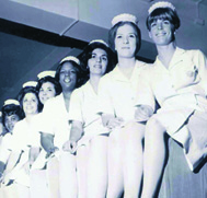 Early Graduates of the Brooklyn Campus Nursing Program