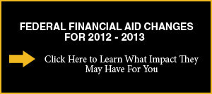 LIU Brooklyn Federal Financial Aid Changes for 2012