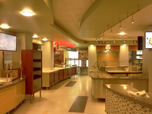 Hillwood Commons Cafe Renovation