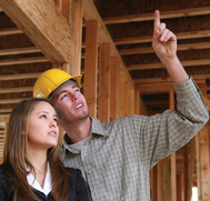Home Inspector with student