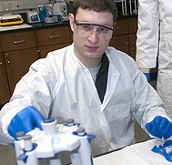 Student pursuing Biomedical Technology degree