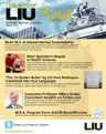 LIU Post International Newsletter Spring 2012