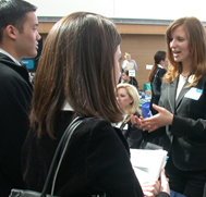 Students at Career Fair Event