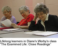 Lifelong learners in Diane's Worby's class