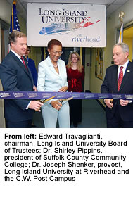 Long Island University Riverhead Ribbon Cut