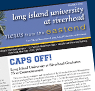 Long Island University at Riverhead Newsletter